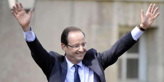 François Hollande était à Blois, ce mardi 3 avril, pour une réunion publique.