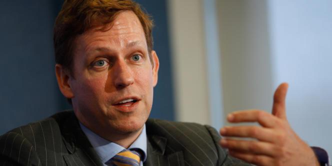 Peter Thiel, l'un des premiers investisseurs du réseau social Facebook.