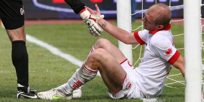 Andrea Masiello, le 15 mai 2011 lors du match Bari - Lecce.