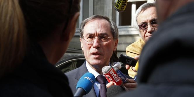 Claude Guéant, le 30 mars 2012, à Paris.