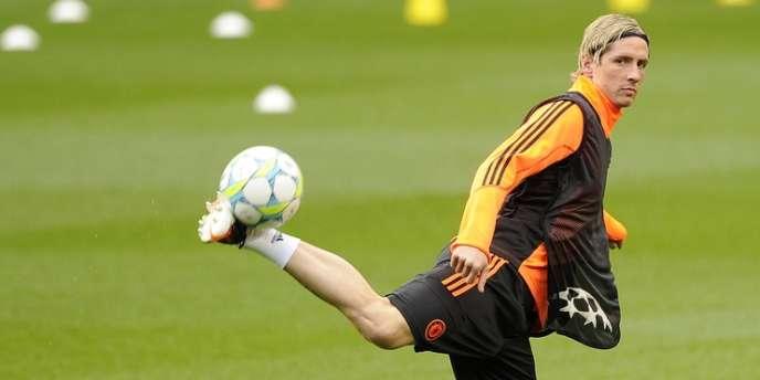 Fernando Torres, le 3 avril à Londres.