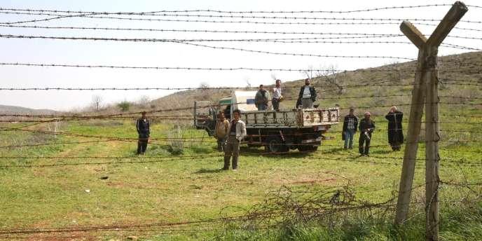A la frontière entre la Syrie et la Turquie, dans la province de Hatay.