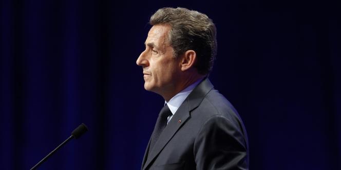 Nicolas Sarkozy à Nancy, le 2 avril 2012
