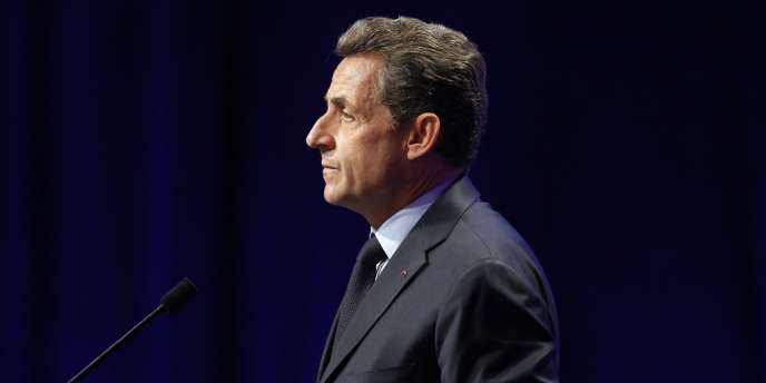 Nicolas Sarkozy à Nancy, le 2 avril 2012