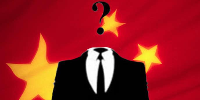 Le logo du groupe ayant revendiqué une série d'attaques contre des sites chinois.