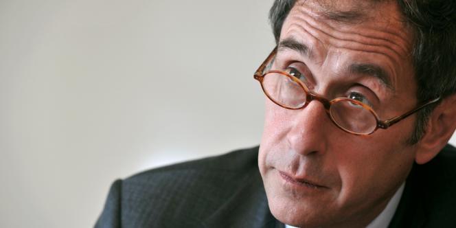 L'ex-directeur de Sciences Po Paris, Richard Descoings, en mai 2009 à Paris.