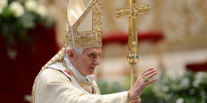 Benoît XVI, lors de la