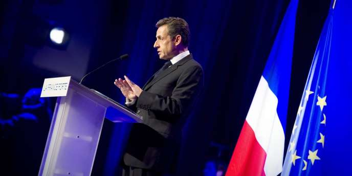 Nicolas Sarkozy, le 2 avril à Nancy