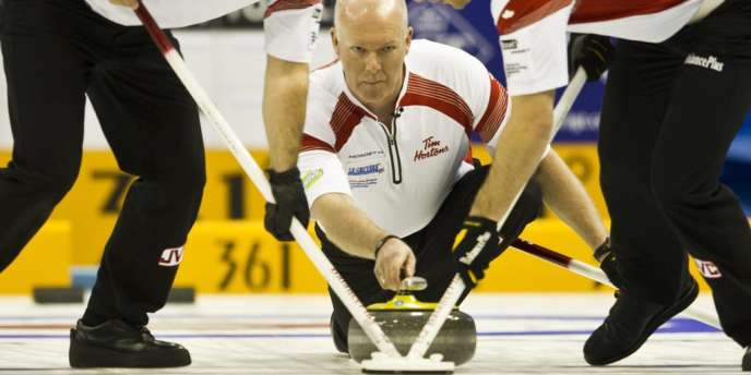 Glenn Howard, le 4 avril à Bâle
