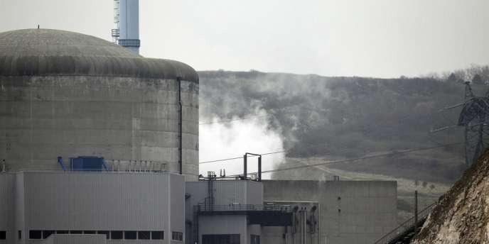 Vue de la centrale de Penly, le 5 avril.