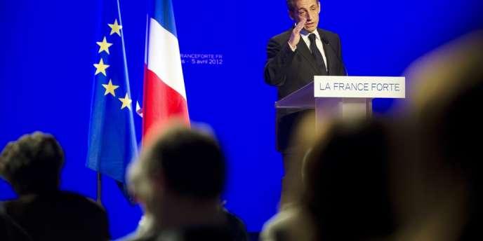 Nicolas Sarkozy a dévoilé, jeudi 5 avril, un programme attendu.