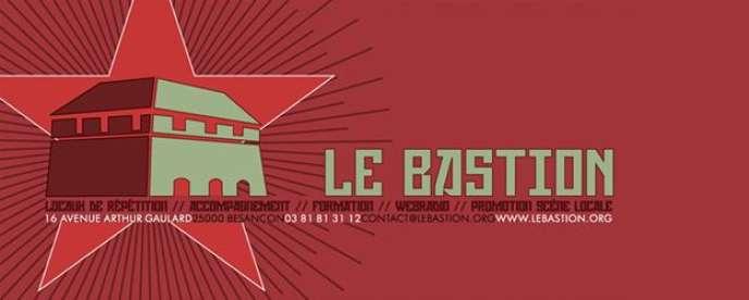 Logo de l'association Le Bastion à Besançon, présidée par David Demesmay.