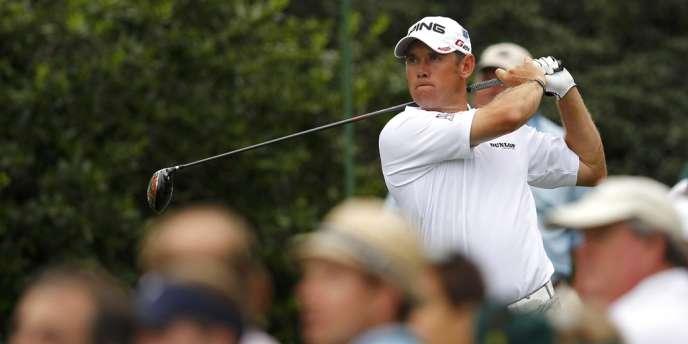 Lee Westwood a pris les commandes à Augusta lors du premier jour des Masters, le 5 avril.
