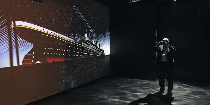 Titanic Belfast, l'un  des deux musées nouvellement dédiés au navire.