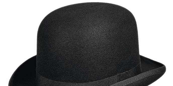 Le Chapeau melon.En feutre de laine, Hardy Bowler, 189 €. www.chapeau shop.fr -
