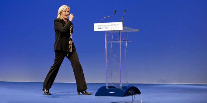 Marine Le Pen s'est en pris au