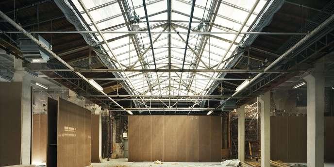 Les travaux ont permis d'aménager de nouveaux espaces, telle cette salle qui va ouvrir pour la première fois au public.-