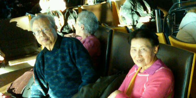 Le dissident chinois Fang Lizhi et sa femme, en 2010.