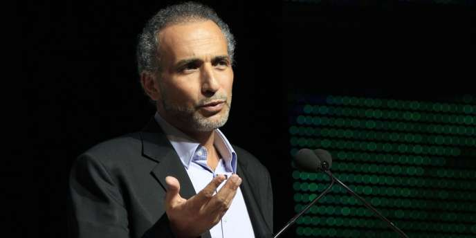 Tariq Ramadan, au congrès de l'UOIF, en avril 2012.