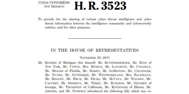 Le premier projet de loi Cispa.