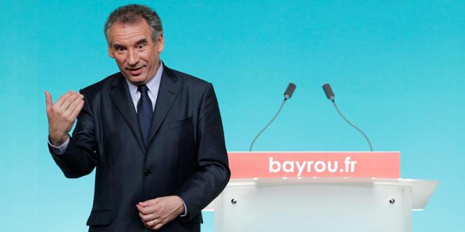 François Bayrou, le 10 avril à Rennes.