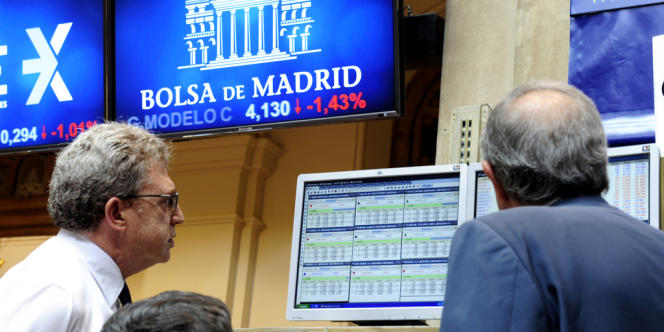La Bourse de Madrid progresse de 5,3% depuis le début de l'année 2013 (au 9 septembre).