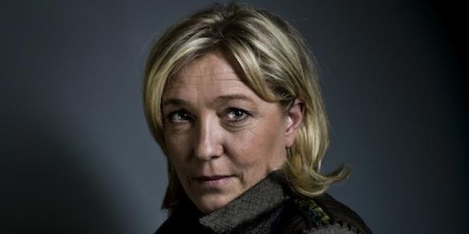 Marine Le Pen, candidate du Front national à la présidentielle 2012.