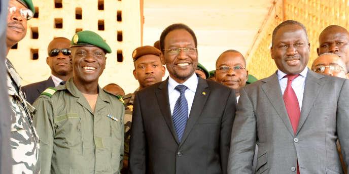 Le président de l'Assemblée nationale du Mali, Dioncounda Traoré, ici à Kati le 11 avril, a été investi président de la transition le 12 avril.
