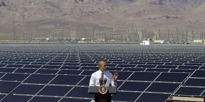 Les investissements des Etats-Unis dans les énergies renouvelables ont diminué de 32 % (à 44,2 milliards de dollars) en 2012.