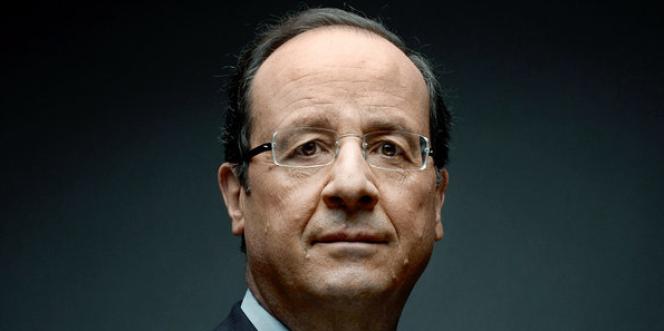 François Hollande, en Une du International Herald Tribune, le samedi 14 avril.