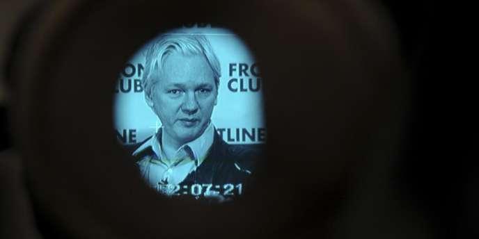 Le fondateur de Wikileaks Julian Assange, le 27 février à Londres.