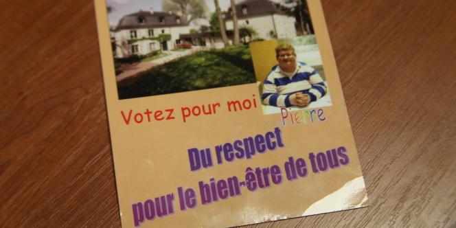 Le tract de Pierre, président des ateliers citoyens du centre Perce-Neige.