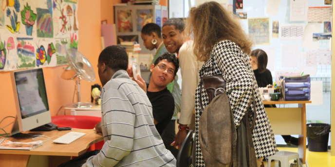 Au centre d'initiation au travail et aux loisirs de Vanves, des ateliers citoyens ont lieu toute l'année.