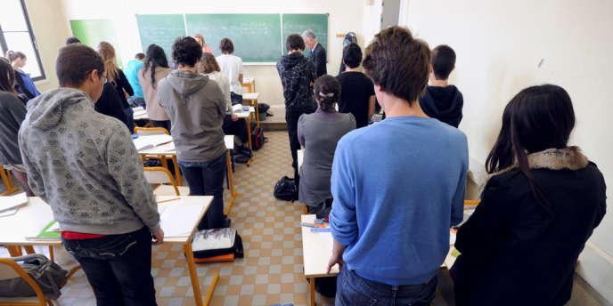 Le 20 mars, les classes ont observé une minute de recueillement en hommage aux victimes de l'école juive Ozar-Hatorah de Toulouse.