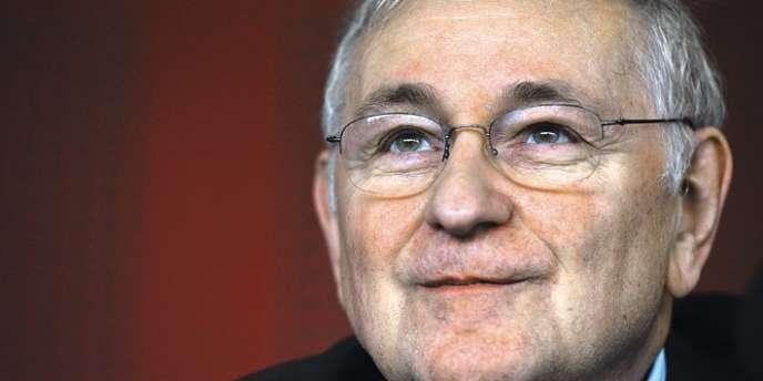 Le candidat du parti Solidarité et progrès, Jacques Cheminade.