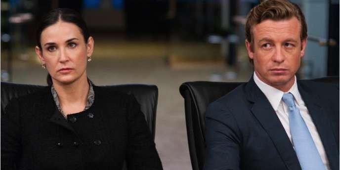 Demi Moore et Simon Baker dans le film américain de J. C. Chandor,