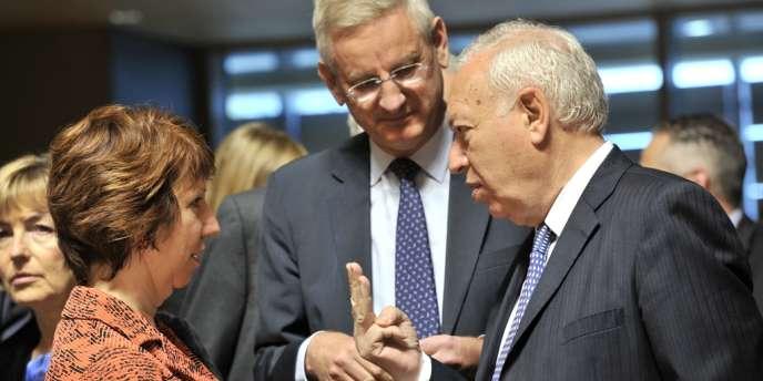 A Luxembourg, où se tenait une réunion des ministres européens des affaires étrangères, lundi 23 avril, les commentaires ont été nombreux.