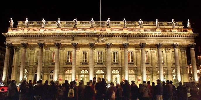 Le Grand Théâtre de Bordeaux. Sa régisseuse Corinne Auguin a été mise en examen pour détournement de fonds publics après avoir subtilisé près d'un million d'euros