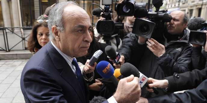 Ziad Takieddine, le 24 avril 2012, à Paris.