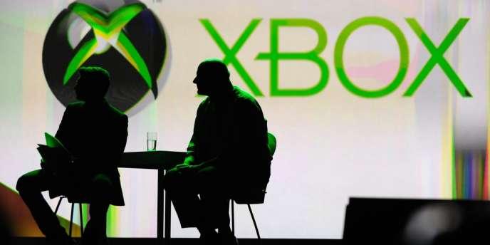 Le logo de la console de salon XBox, de Microsoft.