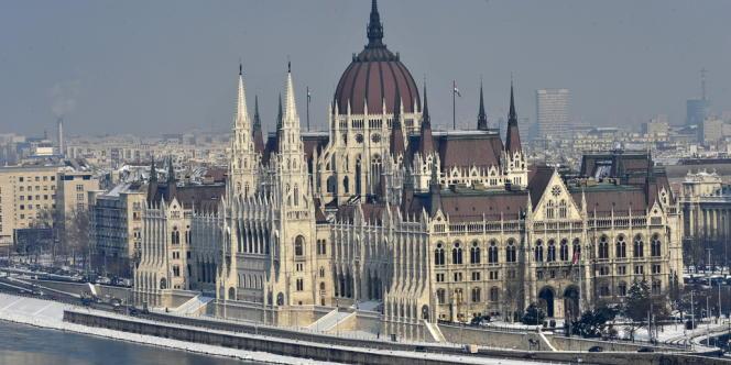 Le Parlement hongrois, à Budapest.