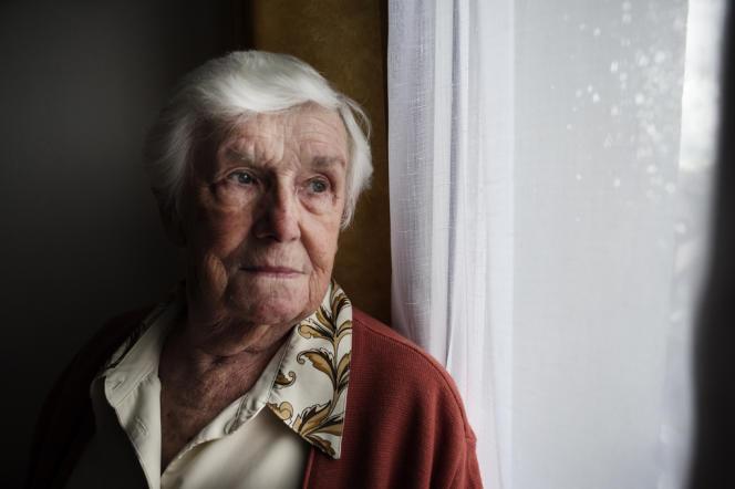 Mme Vaudour, 82 ans, habitante des Courtillières, sympathisante socialiste :