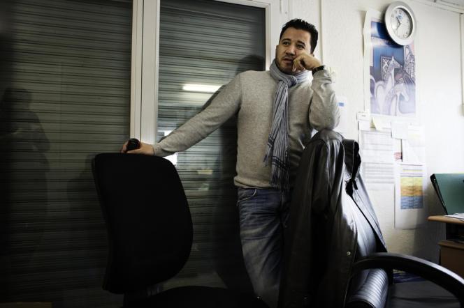 Franck Faradji, gardien d'immeuble à la Cité des Courtillières :