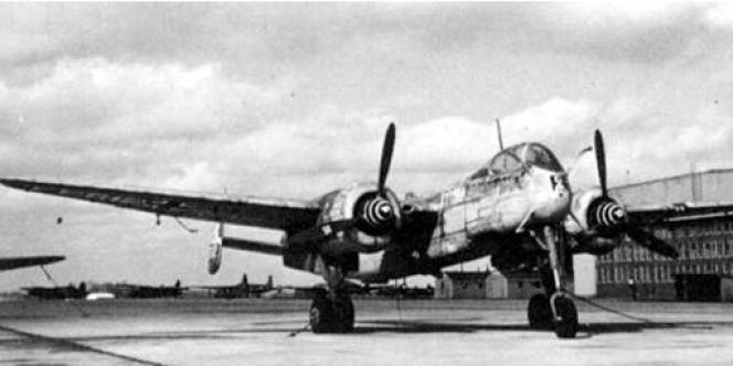 Un Heinkel HE-219.