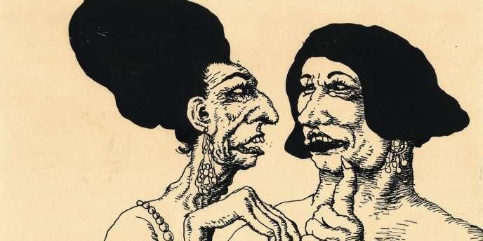 Le musée d'art moderne de la Ville de Paris présente une exposition de 700 dessins et 200 numéros de revues de Robert Crumb - ici,