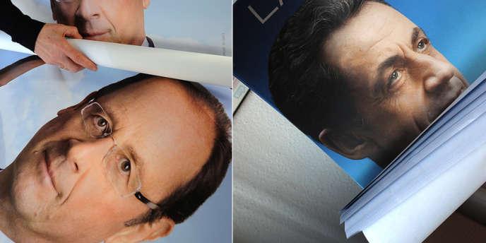 Le grand débat du mercredi 2 mai, entre M. Hollande et M. Sarkozy, a été prévu comme un choc de personnalités.