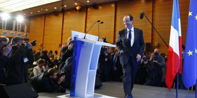 Lors de cette conférence de presse, M. Hollande a dit observer un changement chez les dirigeants européens ; son arrivée en tête au premier tour ayant, selon lui,