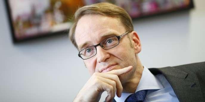 Jens Weidmann, président la Bundesbank, reste plus que jamais le gardien de l'orthodoxie monétaire - ici, le 16 avril 2012 à Francfort.