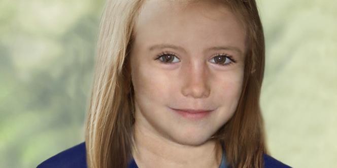 Les fouilles pour retrouver la petite Maddie n'ont rien donné. La police britannique a diffusé ce portrait pour simuler l'apparence qu'elle pourrait avoir aujourd'hui, à 9 ans.