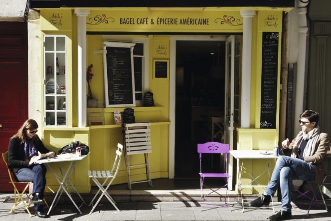 Pause sucrée chez Adèle's Family dans  le 2e arrondissement.
